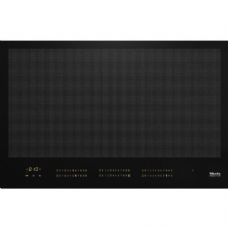 Miele KM7678 FL Induction hob with onset controls with a width of 800mm and full-surface induction
